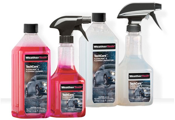 Weathertech techcare floorliner cleaner protectant kit for Best product to clean garage floor