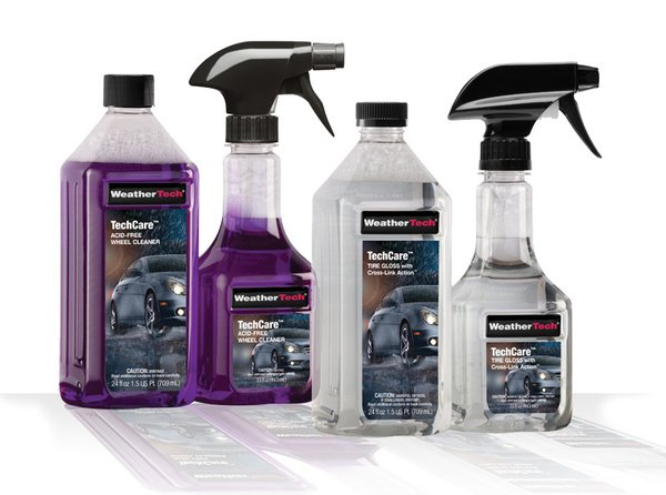 WeatherTech TechCare Tire & Wheel Care Kit