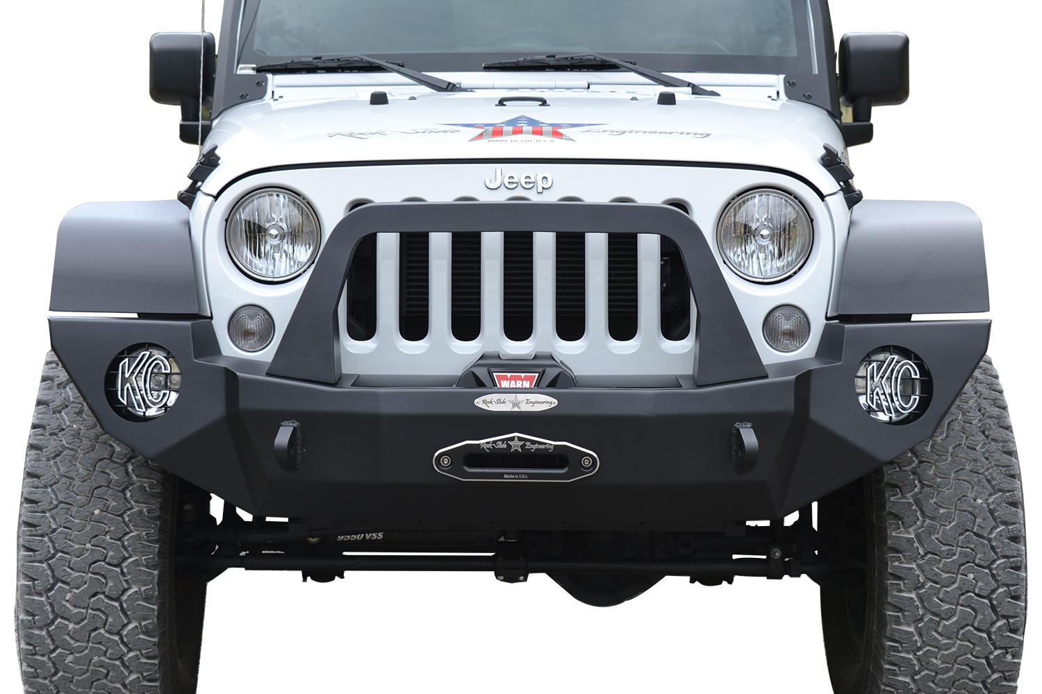 Rock Slide Engineering Rigid Front Bumper Free Shipping