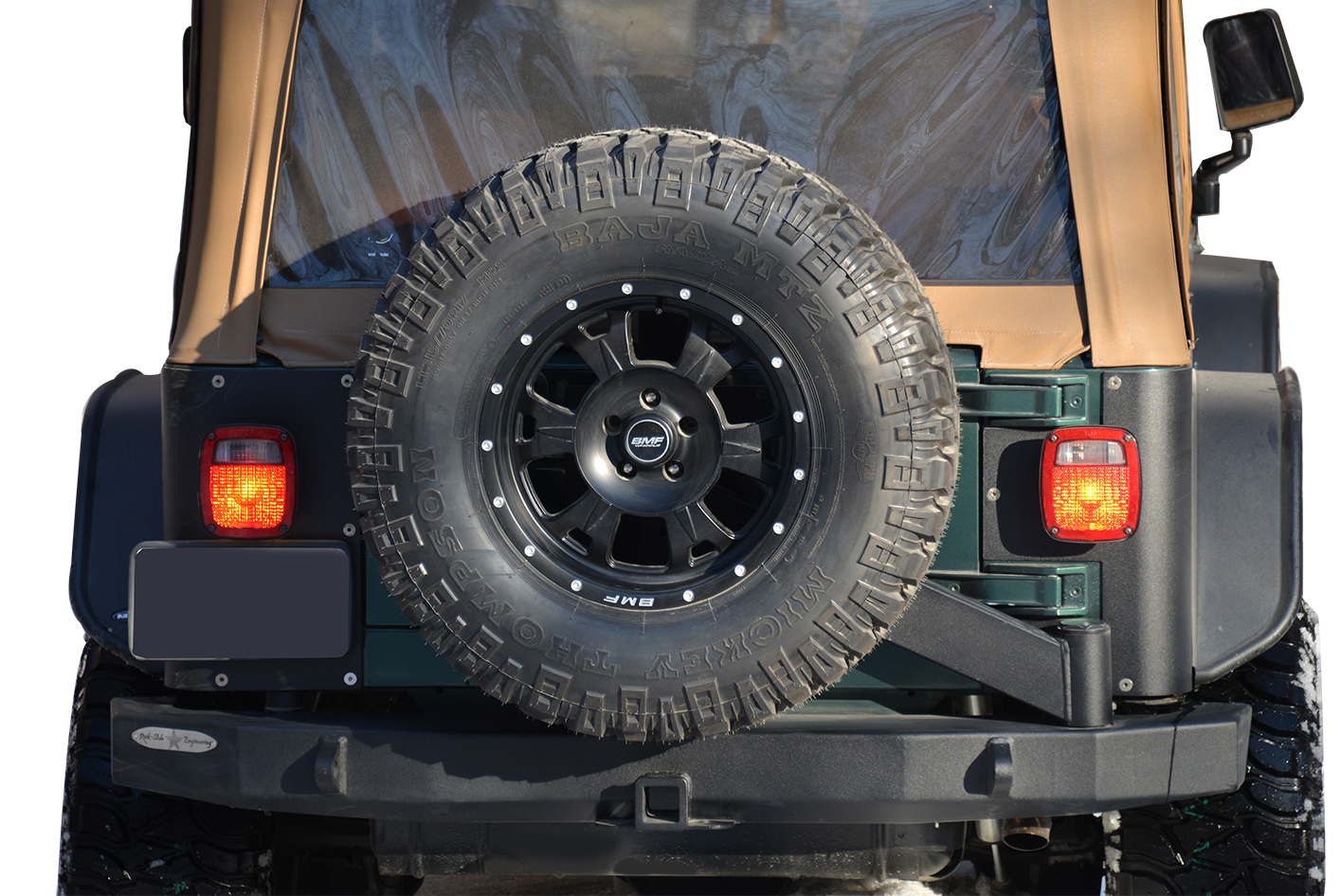 2007 2016 Jeep Wrangler Rock Slide Engineering Rigid Rear Bumper Rock Slide Rb F 101 Jk