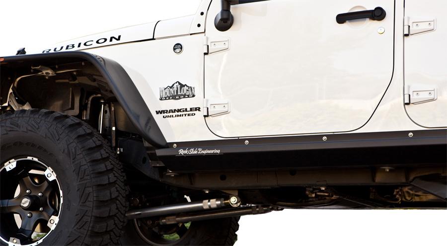 Rock Slide Engineering Rock Sliders Jeep Wrangler Armor