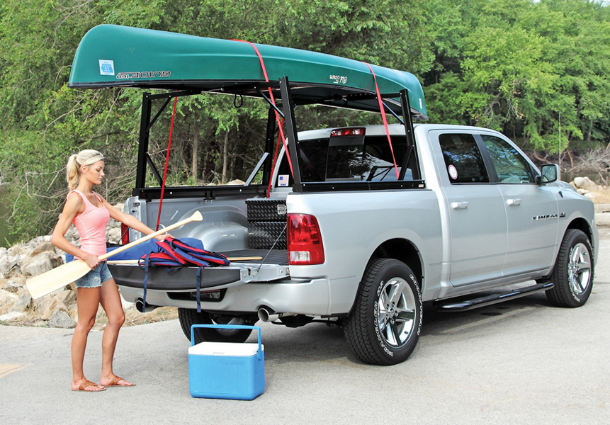 Dee Zee Invis-A-Rack - Perfect Rack for Contractors and Kayaks