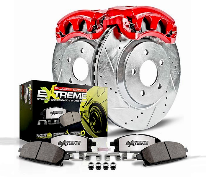 Power Stop Brakes >> Power Stop Street Warrior Brake Kit