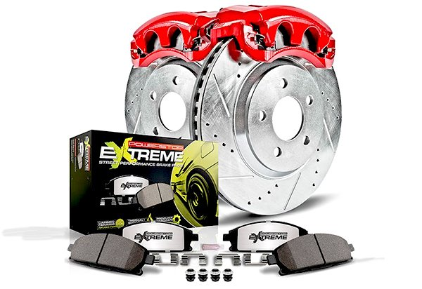 Power Stop Street Warrior Brake Kit