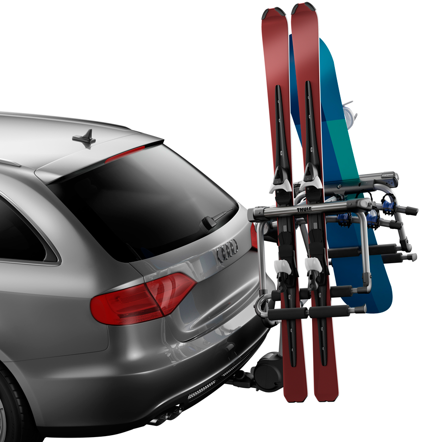 Snowboard Roof Rack >> Thule Tram Hitch Ski Carrier - Free Shipping on all ...