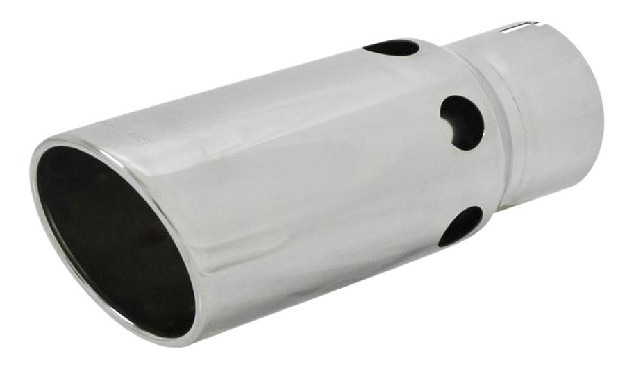 Flowmaster Round Diesel Exhaust Tip Free Shipping