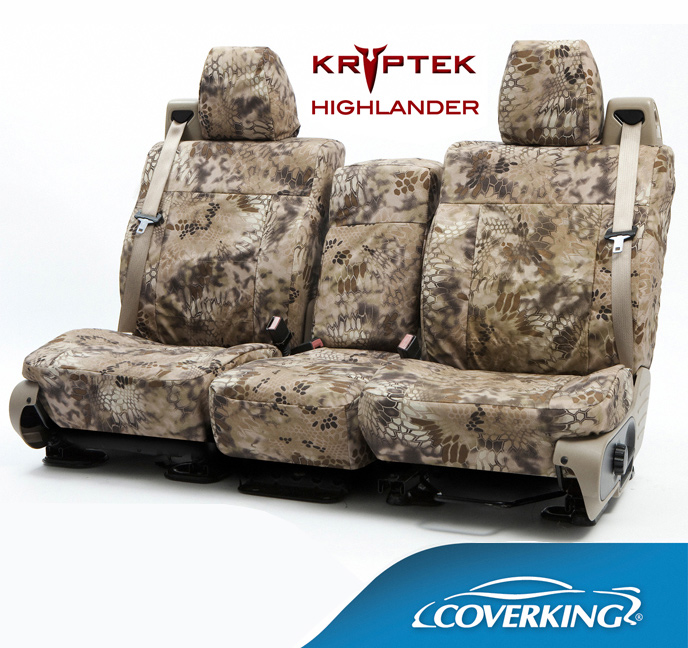 Jeep Wrangler Seat Covers >> Coverking Kryptek Camo Seat Covers - Free Shipping