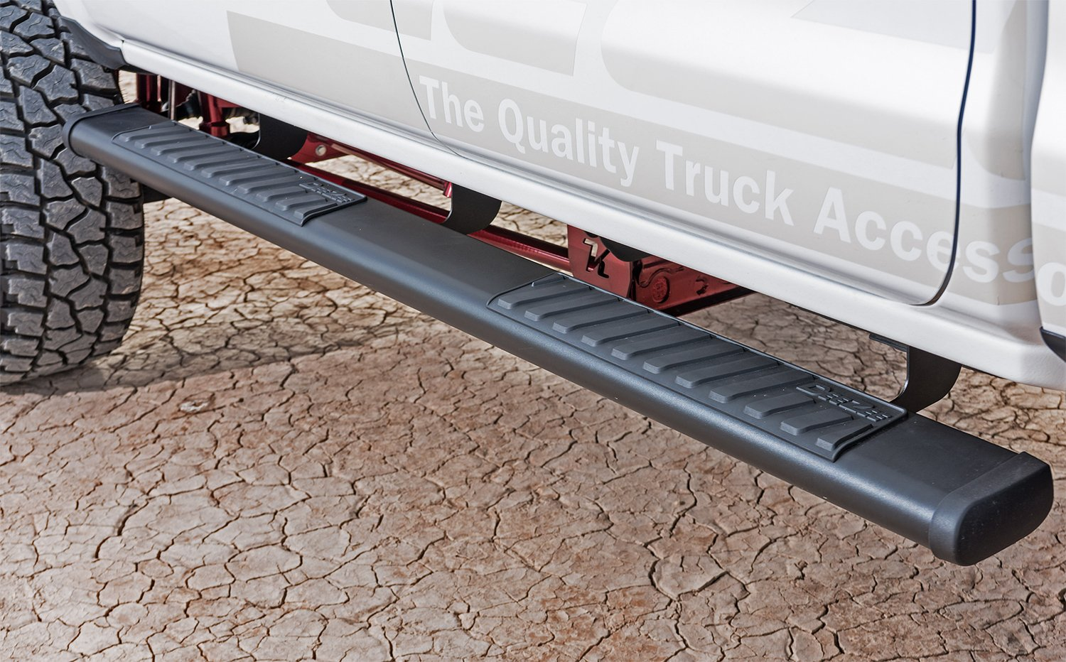 Dee Zee 6 Inch Oval Nerf Bars Free Shipping On 6 Quot Steps
