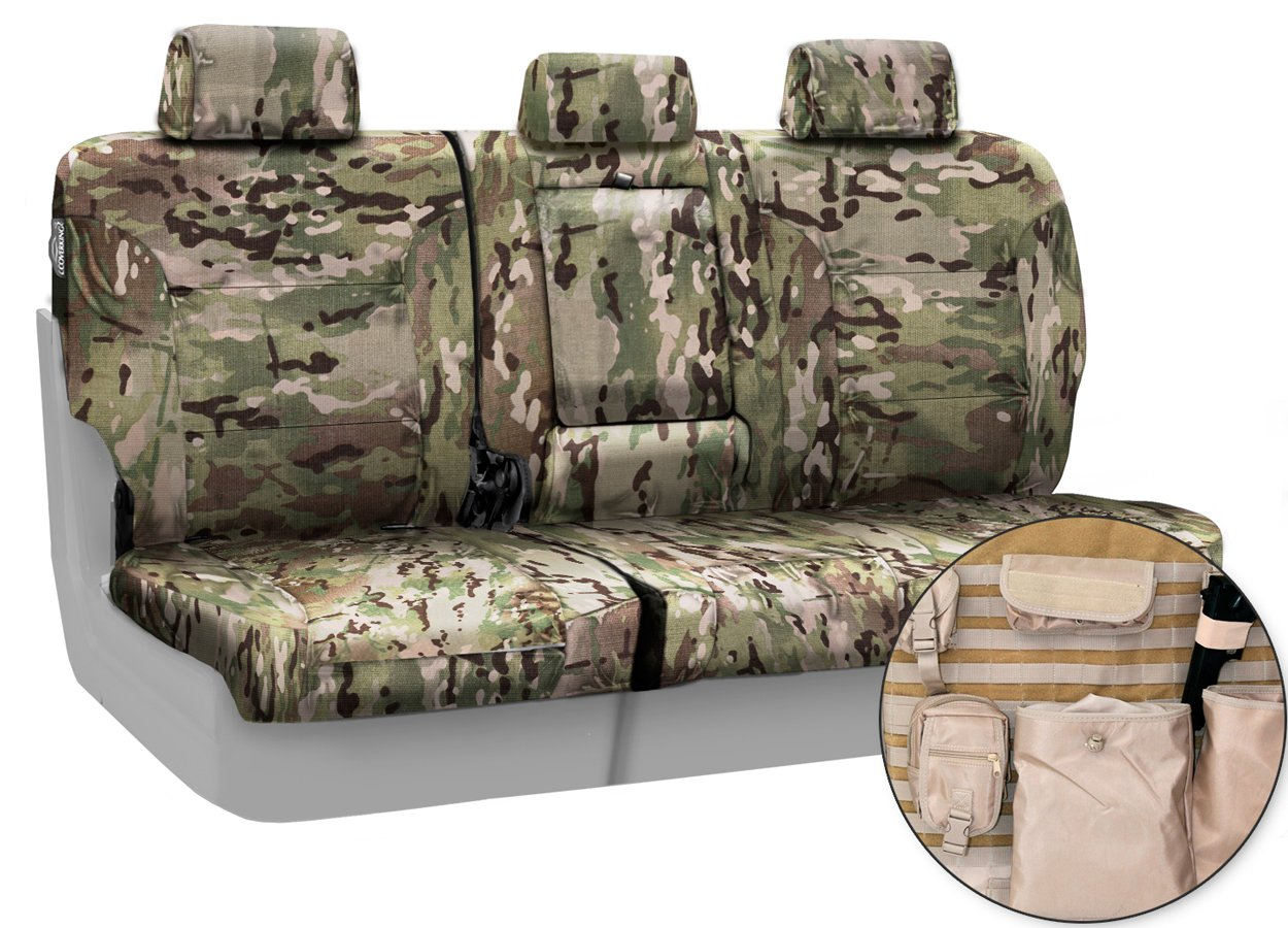 Toyota Sienna Seat Covers >> Coverking Multicam Camo Tactical Seat Covers - Free Shipping