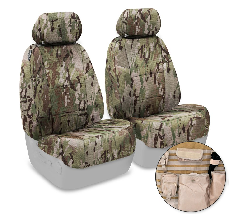 Coverking Multicam Camo Tactical Seat Covers Free Shipping