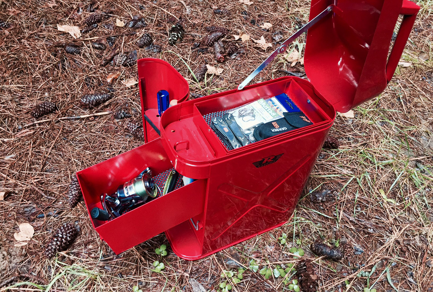 Rampage Trail Can Tool Box Jerry Can Toolbox For Jeep