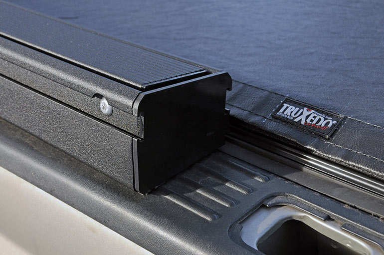 Frontier Truck Parts >> TruXedo Lo Pro QT Invis-A-Rack Tonneau Cover - Free Shipping