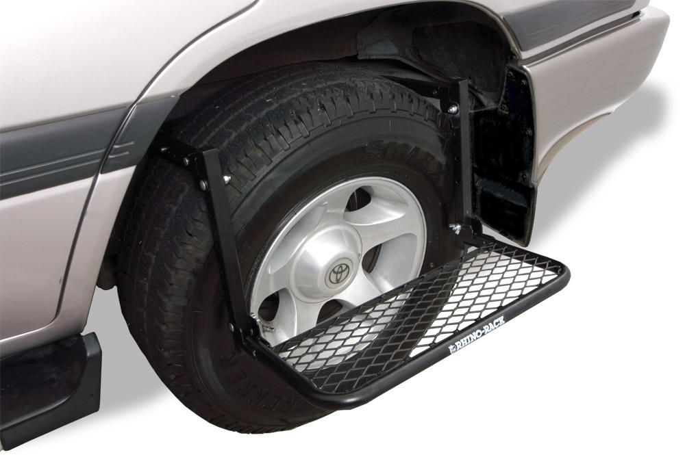 Rhino Rack Tire Step Free Shipping On Rhino Rack Wheel Steps