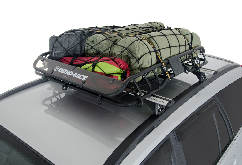 Rhino Rack Roof Mount Cargo Basket Free Shipping