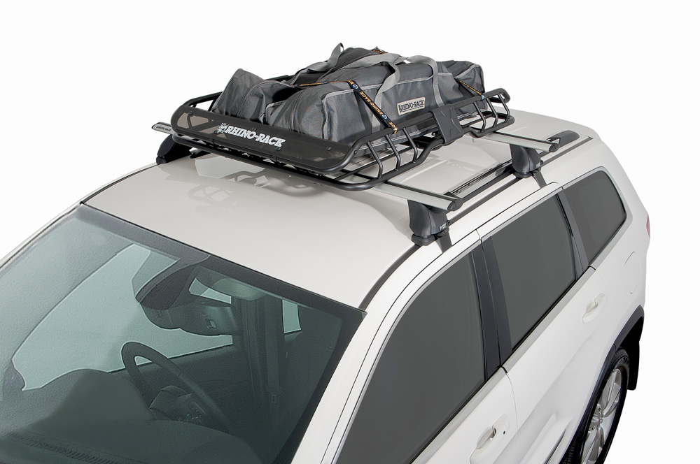 Rhino Rack Roof Mount Cargo Basket Free Shipping