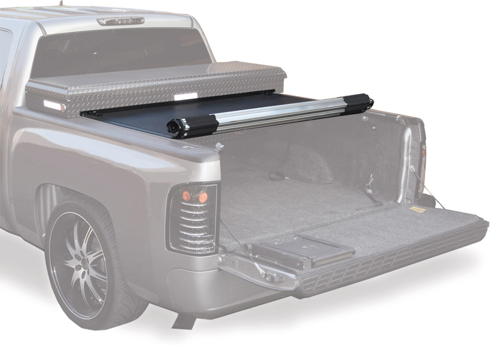 Rolling Bed Cover With Tool Box