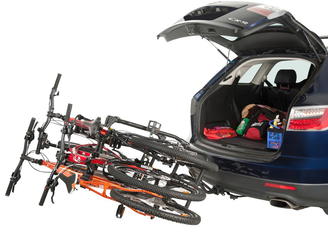 Rhino Rack Hitch Mount Platform Bike Carrier Free