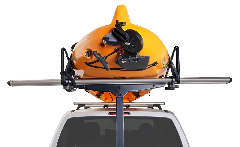 Jeep Wrangler Kayak Rack >> Rhino-Rack T-Loader Hitch Mount Kayak & Canoe Carrier