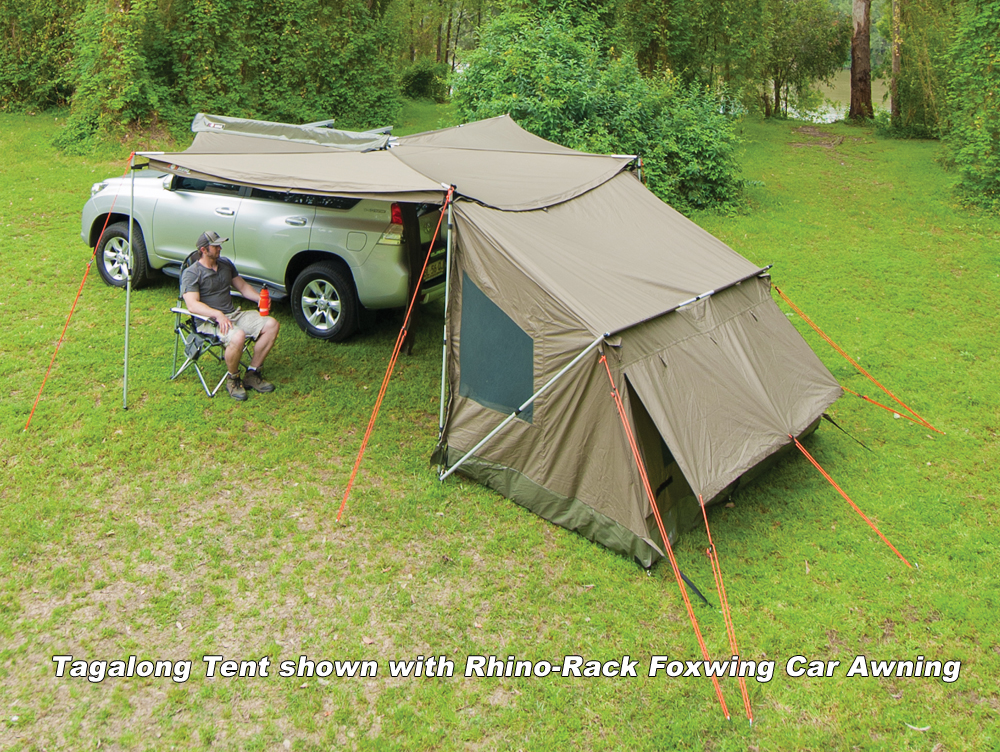 Rhino-Rack Tagalong Tent & Rhino-Rack Tagalong Tent - for Foxwing and Sunseeker Awnings