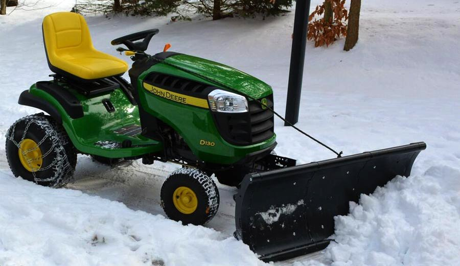 Nordic Riding Mower Snow Plow