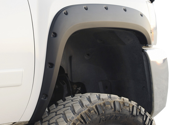 EGR Bolt-On Look Matte Black Fender Flares