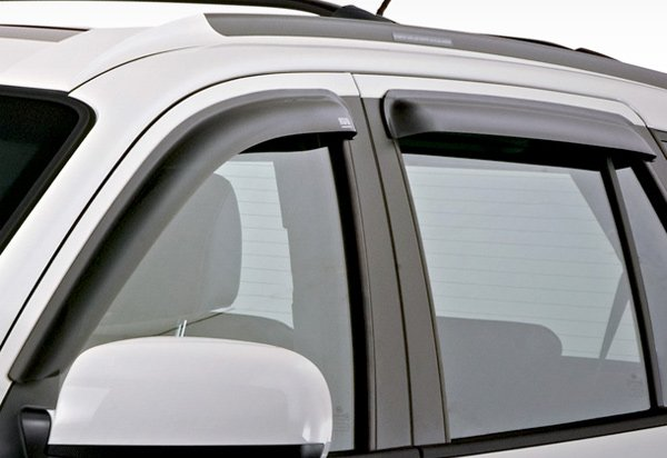 EGR SlimLine Matte Black Window Deflectors