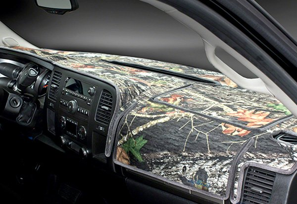 Coverking Mossy Oak Camo Velour Dashboard Cover