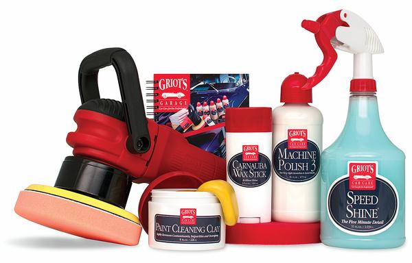 Griot S Garage Machine Carnauba Wax Kit Free Shipping