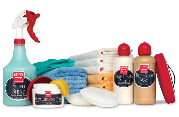 Griot's Garage Hand Polish & Wax Kit