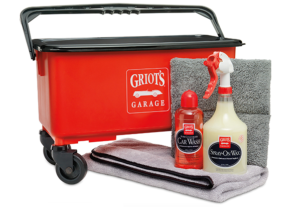 Griot 39 s garage weekend therapy wash kit spray wash wax for Garage md auto