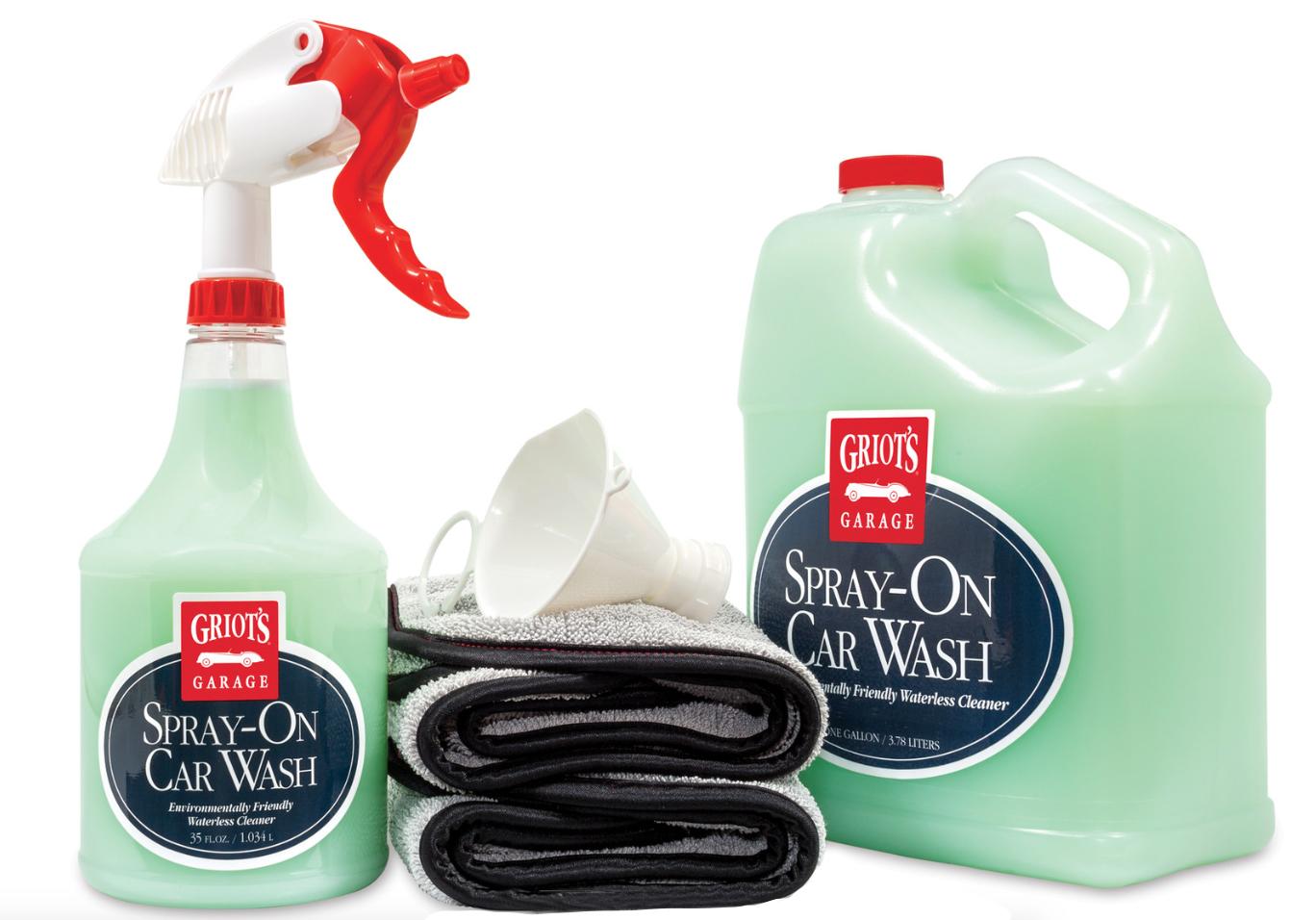 Griot S Garage Waterless Spray On Car Wash