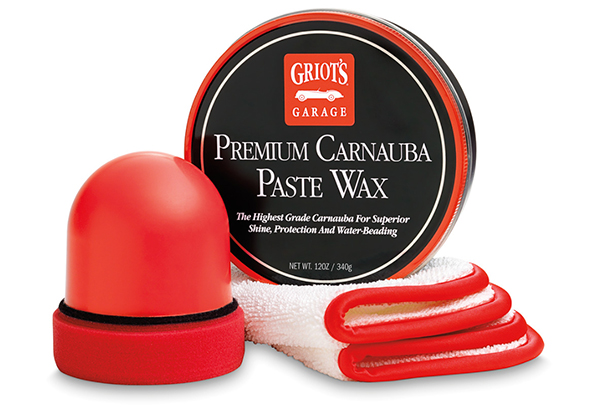 Griot's Garage Premium Carnauba Paste Wax Kit