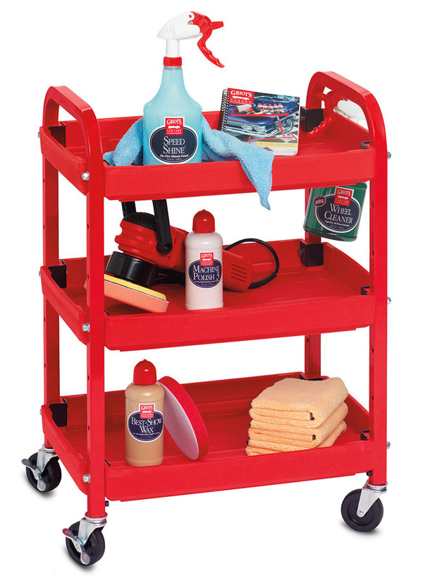 Griot's Garage Compact Detailing Cart