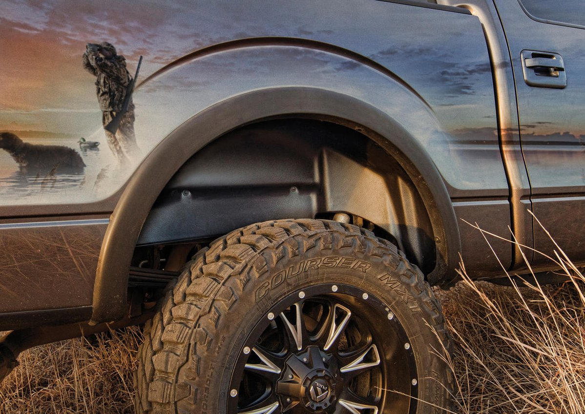 2015 2019 Ford F150 Husky Liners Rear Wheel Well Liners