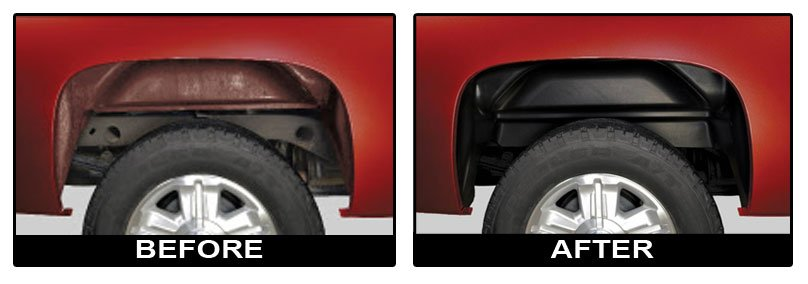 Husky Liners 79131 Wheel Well Covers For F 250 New Ebay