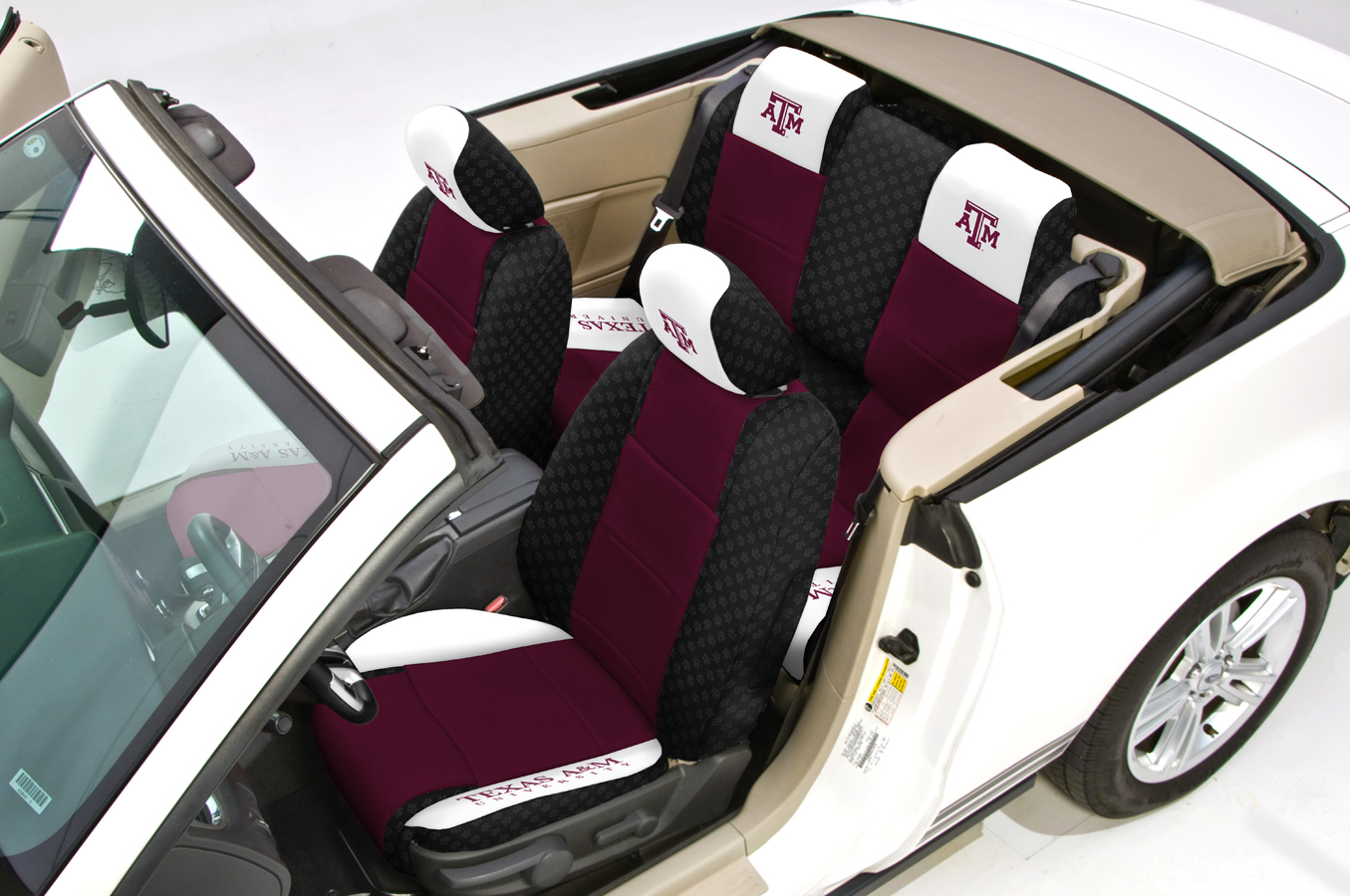Coverking Collegiate Seat Covers Official Ncaa Seat