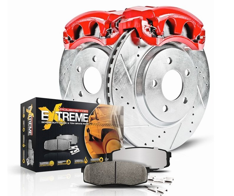 Power Stop Z36 Truck Amp Tow Brake Kit With Calipers