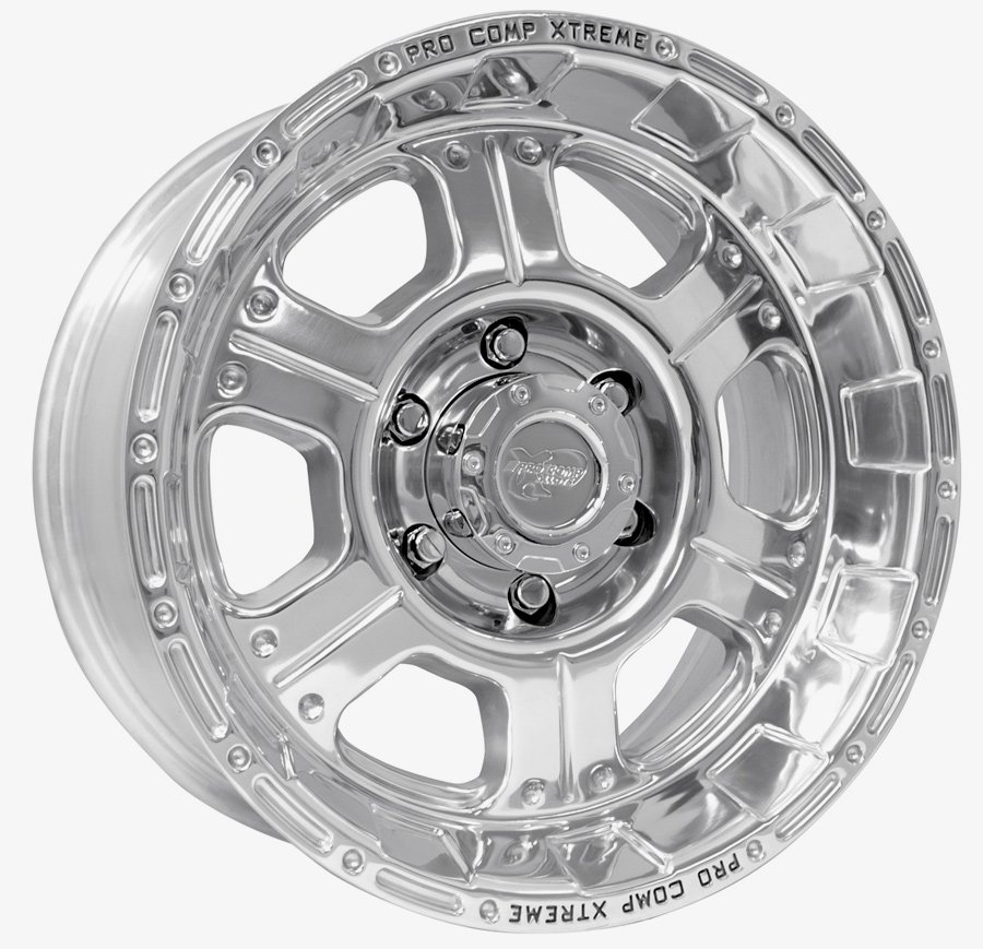 Pro Comp 1089 Chrome Powder Coat Wheels