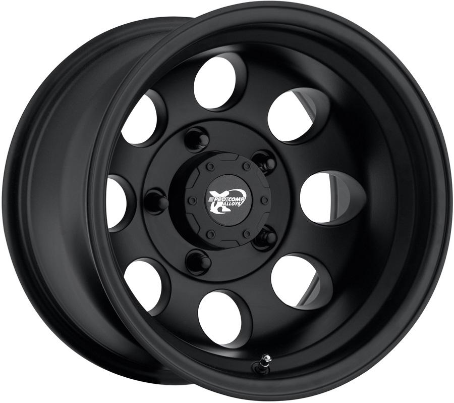 Pro Comp 7069 Flat Black Wheels - Pro Comp 7069 Matte ...