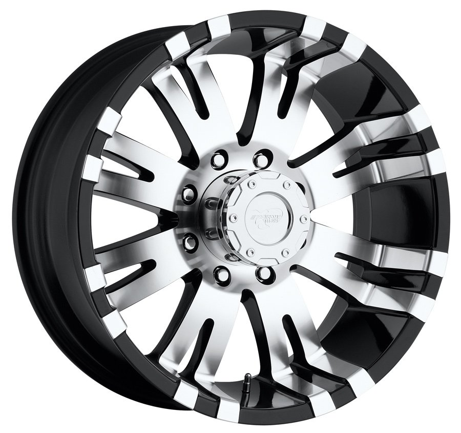 Pro Comp 8101 Series Alloy Wheels - Gloss Black Rims Ship Free