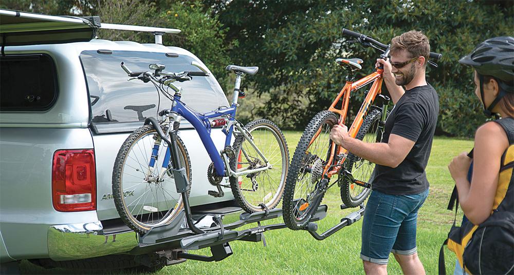 carrier doubletrack dp platform hitch rack mount amazon thule bike com