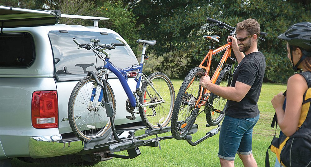 mount trunk rack platform raceway bike thule