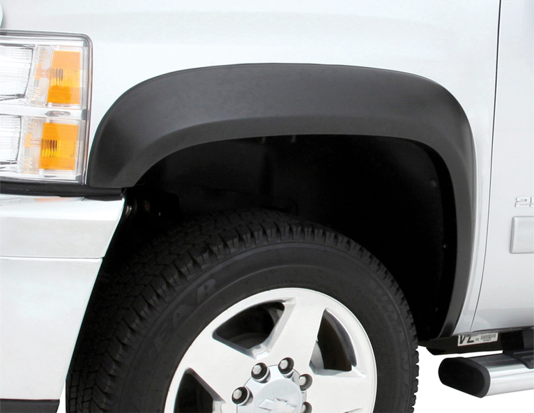 EGR Rugged Look Matte Black Fender Flares - Free Shipping