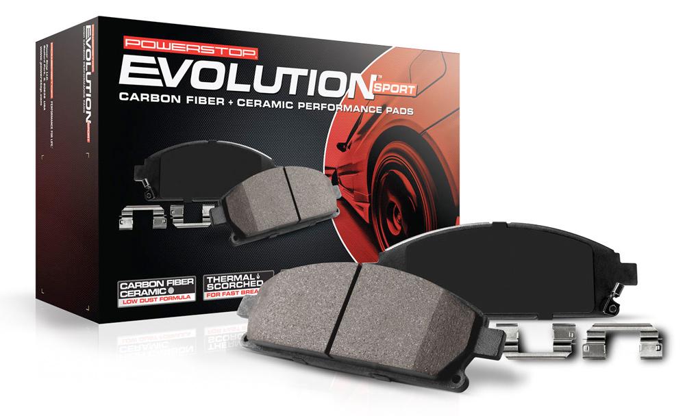 Power Stop Z23 Evolution Sport Brake Pads Free Shipping
