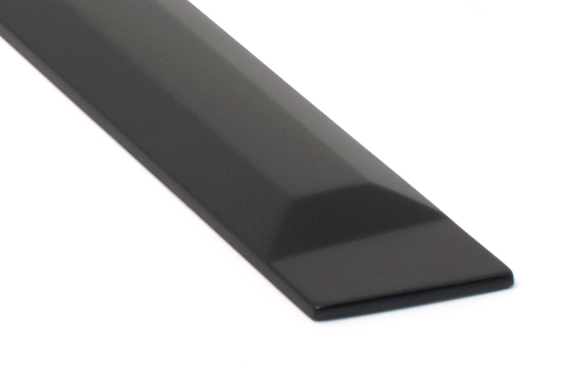 egr matte black side molding rugged black body trim