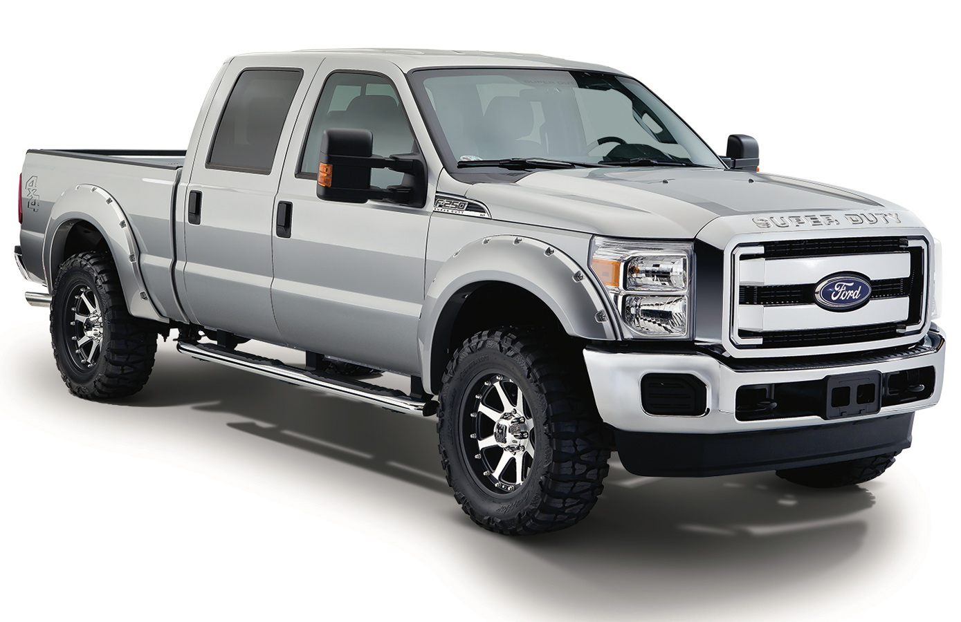 2015 2018 ford f150 bushwacker pocket style color fender. Black Bedroom Furniture Sets. Home Design Ideas