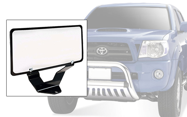 Steelcraft Bull Bar License Plate Relocation Kit