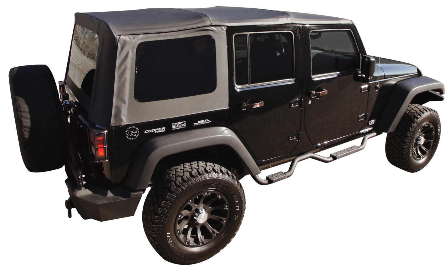 2007 2018 Jeep Wrangler Rampage Slimline Step Nerf Bars