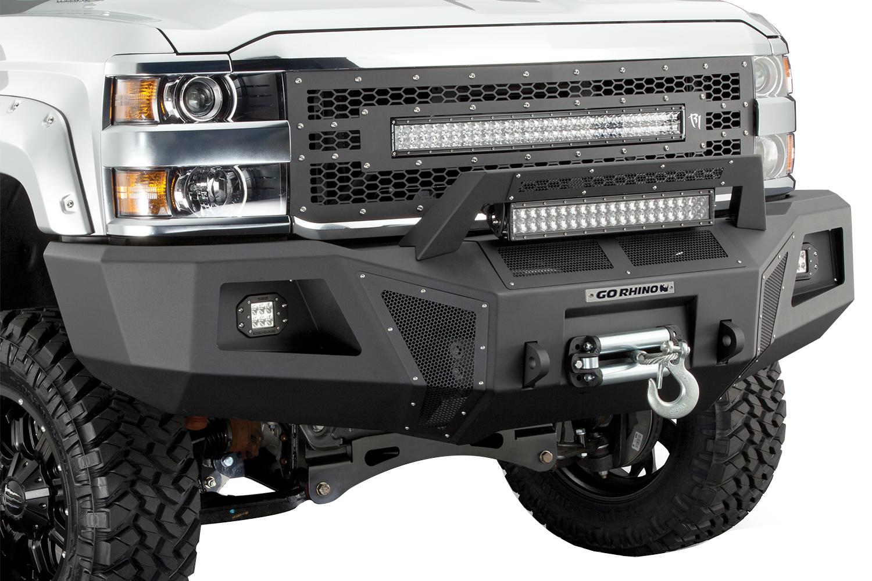 Go Rhino Br10 Front Bumper Autoaccessoriesgarage Com