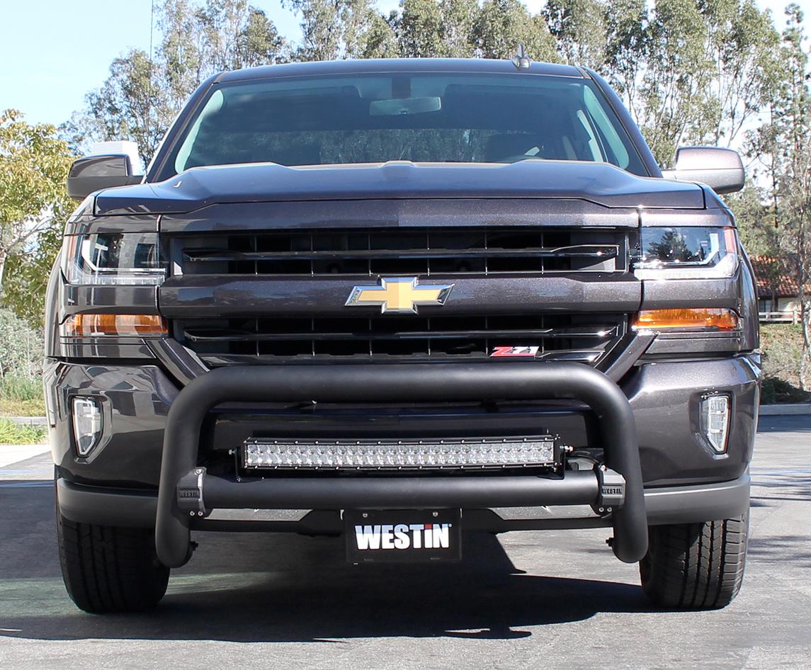 2014-2015 Chevy Silverado Westin Contour Bull Bar - Westin ...